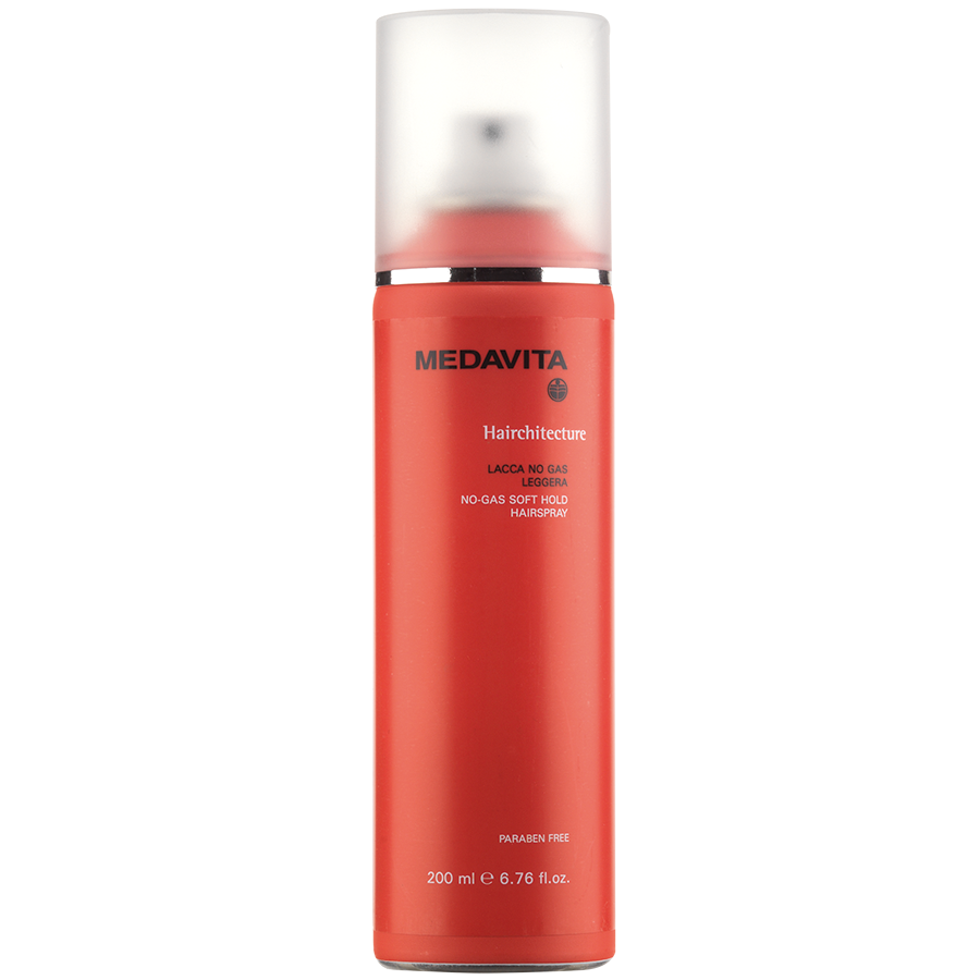 No-gas soft hold hairspray