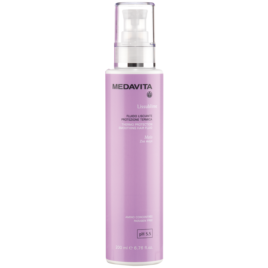 Thermo protection smoothing hair fluid